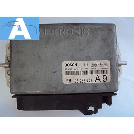 Modulo de Injeção GM Vectra GLS 2.0 Gasolina - 0261204194 - 93233443 - Bosch