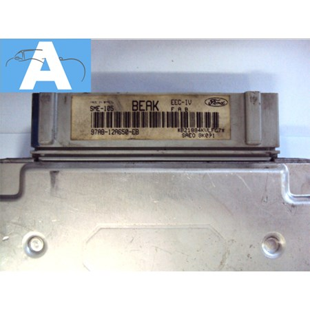 Modulo Injeção Ford Escort Zetec 1.8 16V - 97AB12A650EB - BEAK *PREÇO SOB CONSULTA*