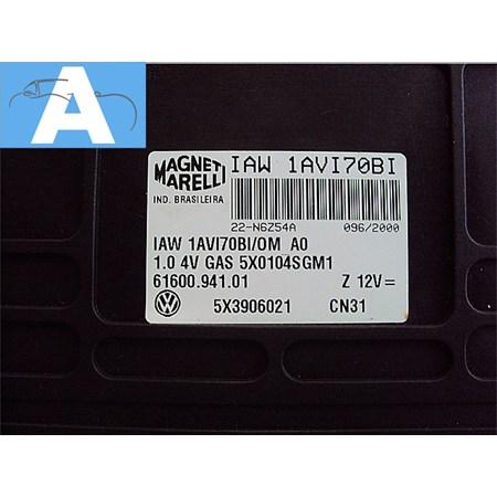 Modulo Injeção Gol 1.0 16V - Gasolina - 5x3906021 - IAW1AVI70BI - Original