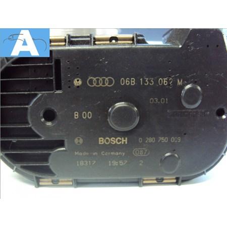 Corpo de Borboleta / TBI Audi A4 / Golf / Passat 1.8 T - 0280750009 - 06b133062m - orig. Bosch novo