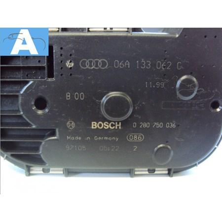 Corpo Borboleta / TBI Audi A3 - Golf 1.8 turbo - 06a133062c - 0280750036 - Original Bosch NOVO