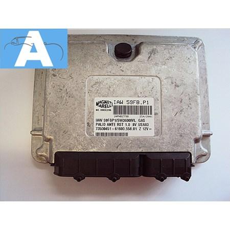 Modulo de Injeção FIAT Palio 1.0 8v Gasolina - IAW59FBP1 - 73500451