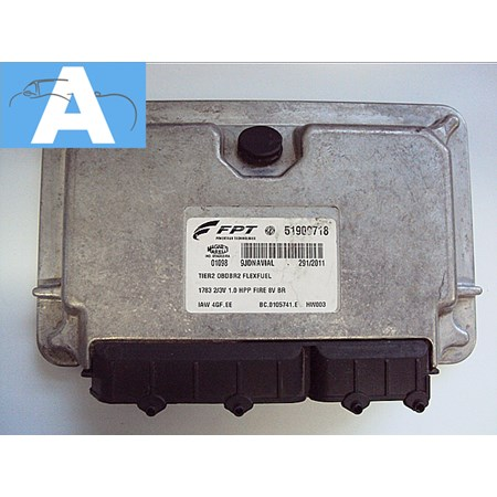 Modulo de Injeção Fiat Palio 1.0 8v Flex - IAW4GFEE - 51909718