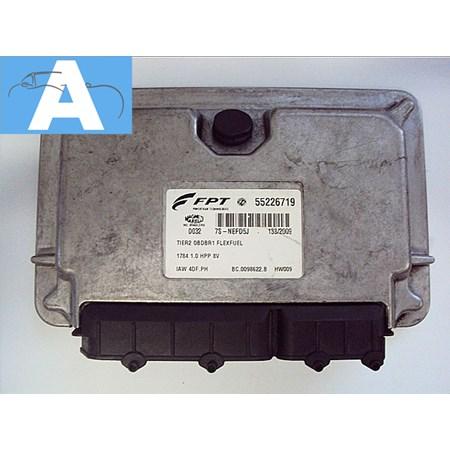 Modulo de Injeção Fiat Palio / Siena 1.0 8v Flex - 55226719 - Iaw4dfph