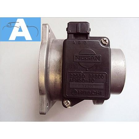 Medidor de Fluxo Ar / MAF Nissan - 2268088G00 - AFH50-10 - Original