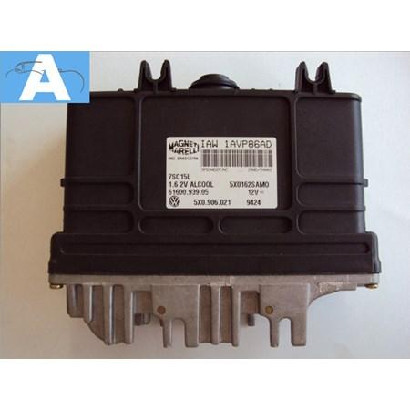 Modulo de Injeção VW Gol / Saveiro 1.6 8v. Alcool - 5x0906021 - iaw1avp86ad