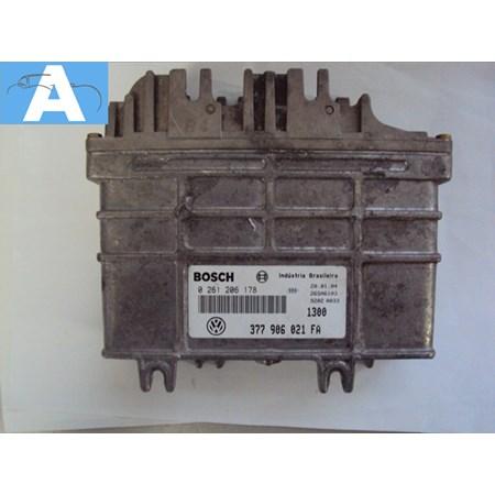 Modulo de Injeção VW Gol 1.0 8V Alcool - 0261206178 - 377906021fa (NOVO)