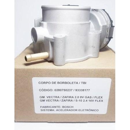 Corpo Borboleta TBI Vectra Astra Zafira 2.0 Flex 0280750237 93338177 Bosch novo