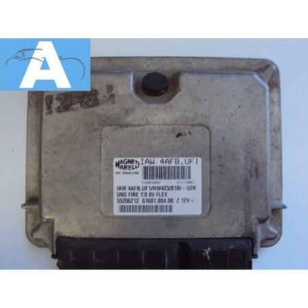 Modulo de Injeção Fiat Uno Fire 1.0 8V Flex - IAW 4AFB.UF1 - 55206212 - Original