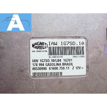Módulo Injeção Fiat Palio / Siena 1.0 8v. Gas. - IAW 1G7SD10A