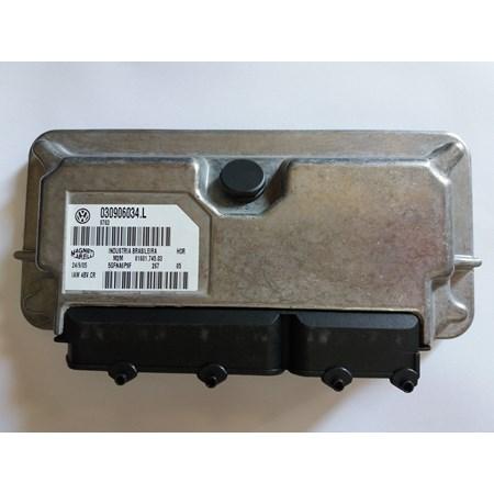 Módulo Injeção Gol Power Fox 1.0 8V gasolina 030906034L IAW4BVCR NOVO