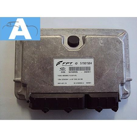 Modulo de Injeção Fiat Palio / Siena Fire 1.4 8v Flex - IAW4GFCV - 51901504 NOVO