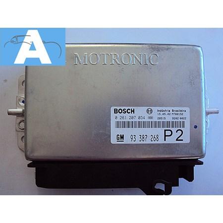 Modulo de Injeção GM Vectra 2.2 16 V. - 0261207034 - 93387268 Original