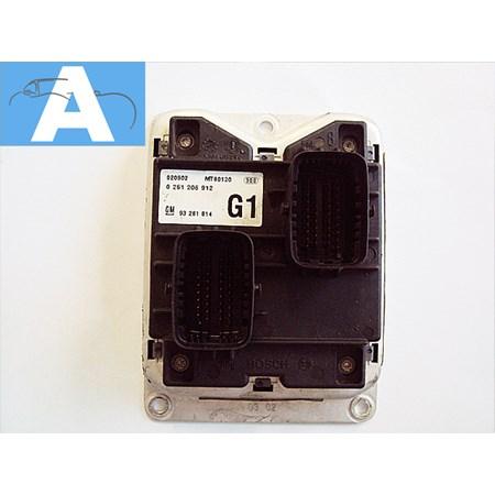 Modulo de Injeção GM Astra / Zafira 2.0 16v - 0261206912 - 93281814 - G1