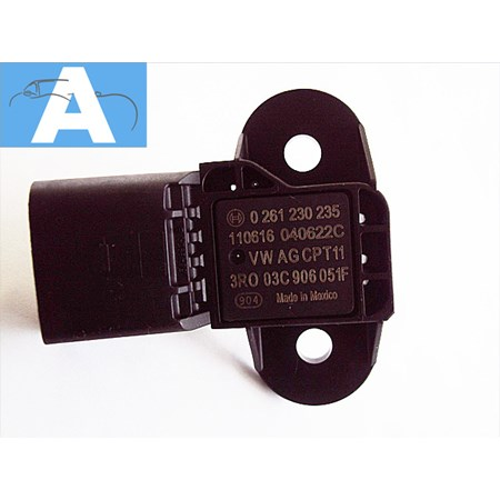 Sensor MAP Fox Golf Jetta Polo Passat Touareg 0261230235 03c906051f Novo