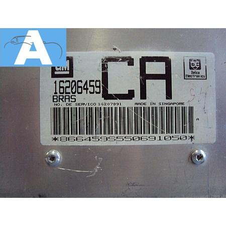 Modulo de Injeção GM S10 2.2 Efi gasolina - 16206459 - BRAS CA