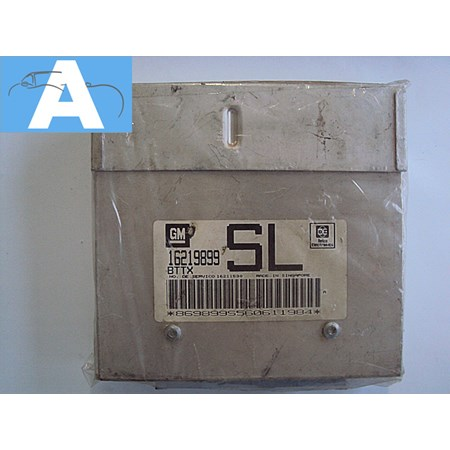 Modulo de Injeção GM Corsa 1.6 8v Mpfi gasolina - 16219899 - BTTX *PREÇO SOB CONSULTA*