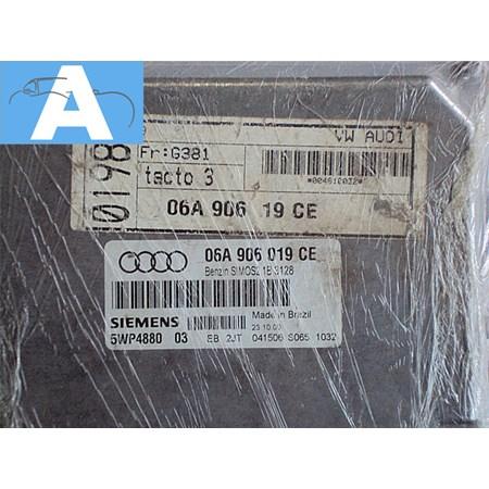 Modulo de Injeção Golf Audi A3 1.6 8v 06A906019CE 5WP488003 ESTADO DE NOVO
