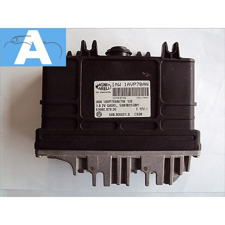 Modulo de Injeção VW Santana 1.8 Gasolina - 5X0906021B - IAW1AVP78AN