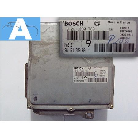 Modulo de Injeção Peugeot 106 - 0261200780 - 9617150080 - Bosch Original
