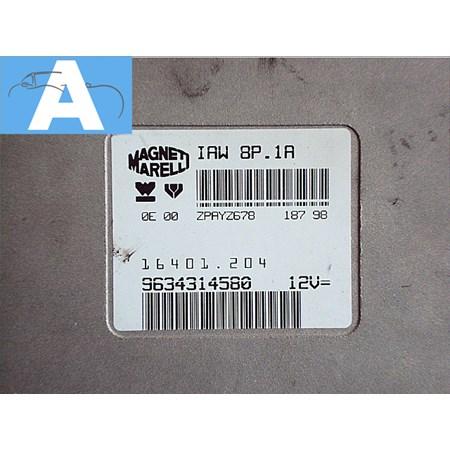 Modulo de Injeção Citroen 306 - 405 Xsara 1.8 8v. 9634314580 - 16401204 *PREÇO SOB CONSULTA*