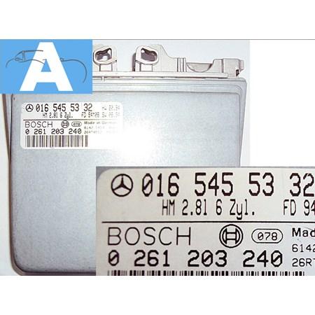 Modulo de Injeção Mercedes Benz C280 - 0261203240 - 0165455332 Bosch