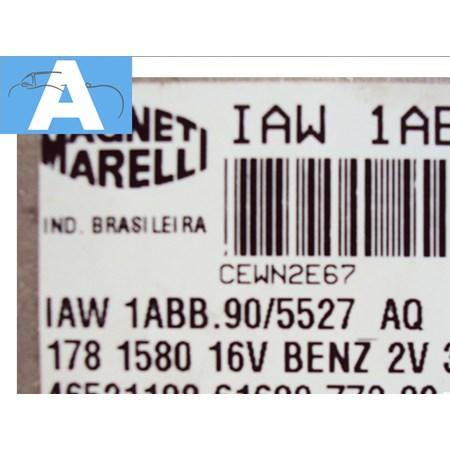 Modulo de Injeção FIAT Palio Siena Brava 1.6 16v. - IAW 1ABB.90 - NOVO *PREÇO SOB CONSULTA*