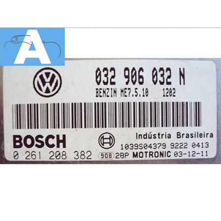 Modulo de Injeção VW Fox / Polo 1.6 8v flex - 032906032N - 0261208382 Bosch