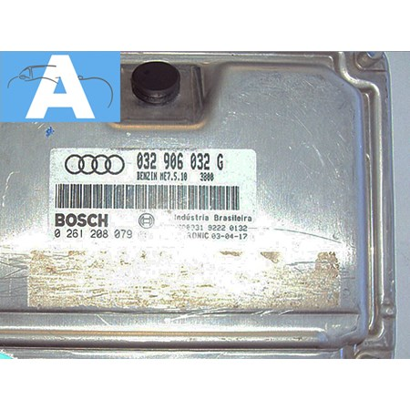 Modulo Injeção Audi A3 1.6 - 032906032G - 0261208079 - Bosch