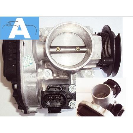 Corpo de Borboleta / TBI VW Gol 1.0 16v - Polo Classic 1.0 16V. Gas. 97/02 036133064P Original VDO