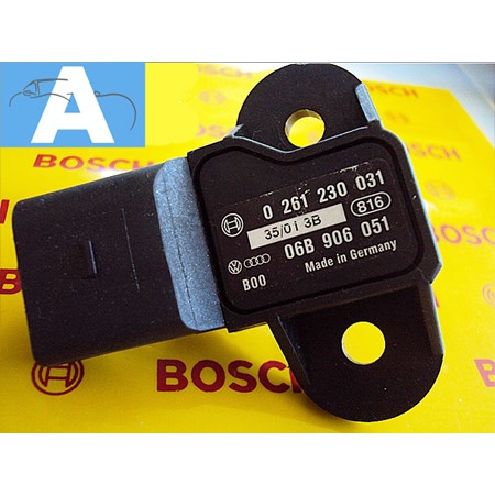 Sensor de Pressão MAP Gol / Polo / Parati / Saveiro 1.0 8V 2000>... 0261230031 - 06B906051