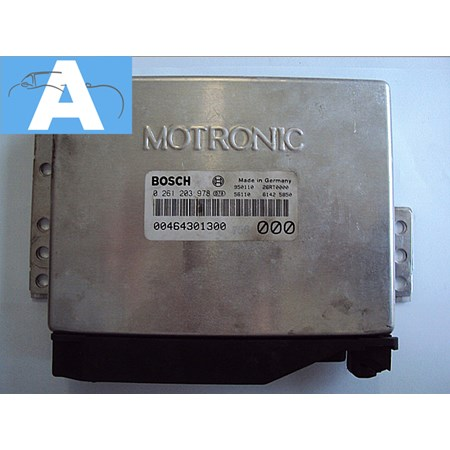 Modulo Injeção Alfa Romeo - 0261203978 - Bosch *PREÇO SOB CONSULTA*