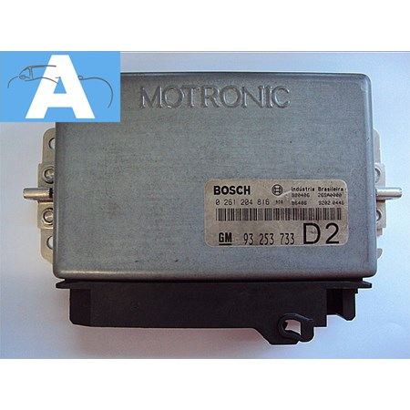 Modulo de Injeção GM Vectra 2.2 - 0261204816 - D3 - 93253733