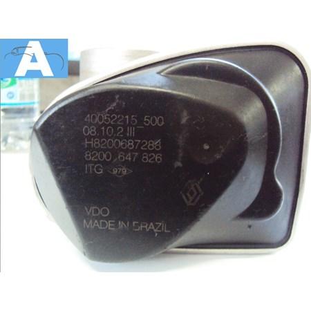 Corpo de Borboleta / TBI Renault Logan / Clio / Sandero 1.0 16v. Hiflex - H8200687288 - 40052215500 - Original VDO