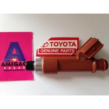 Bico Injetor Toyota Corolla / Fielder 1.8 Flex - 23250-22090 Novo Original? Denso? É Aqui