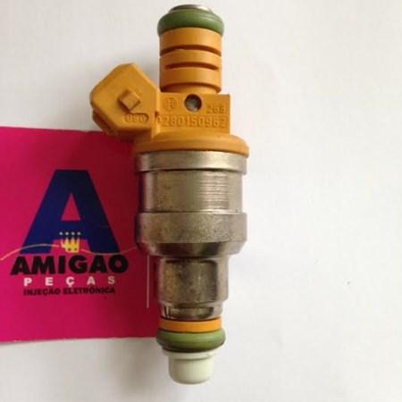 Bico Injetor Omega / Vectra / Marea / Santana Gas. - 0280150962 - Original Bosch (Amarelo)