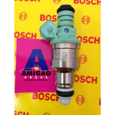 Bico Injetor Ford Ka / Fiesta / Courier 1.0 1.3 Endura - 0280150993 - 96BFAA - Original Bosch Estado de Novo