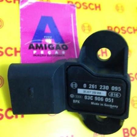 Sensor MAP Volks Gol/ Polo /Golf /Fox /Kombi - 0261230095 - 03C906051 - Bosch NOVO