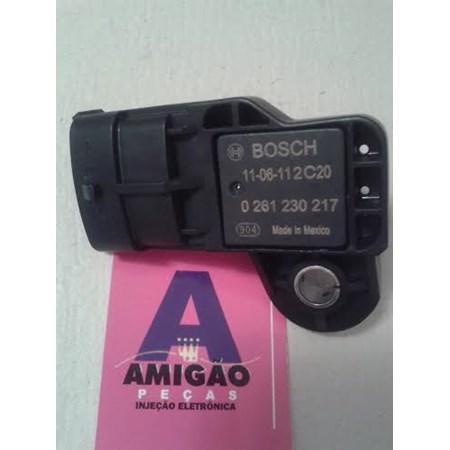 Sensor MAP GM Captiva / Vectra 2.4 - 0261230217 - Bosch