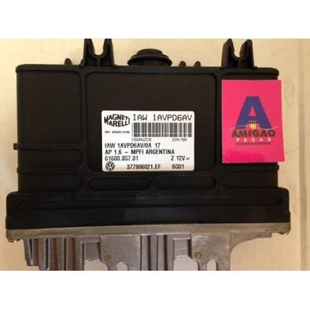 Módulo Injeção Gol / Saveiro 1.6 AP - MPFI - Argentino Gas. - 377906021EF - IAW1AVPD6AV *PREÇO SOB CONSULTA*