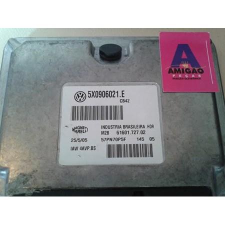 Modulo de injeção VW Gol Parati Saveiro 1.8 flex 5X0906021E IAW4AVPBS Original