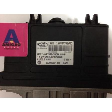 Módulo de Injeção Gol / Saveiro / Parati 1.6 8v Gas. - 377906021.HB - IAW 1AVP76AD - NOVO