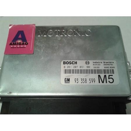Módulo Injeção GM Vectra 2.2 8v - 0261207031 - 93358599 - Original novo
