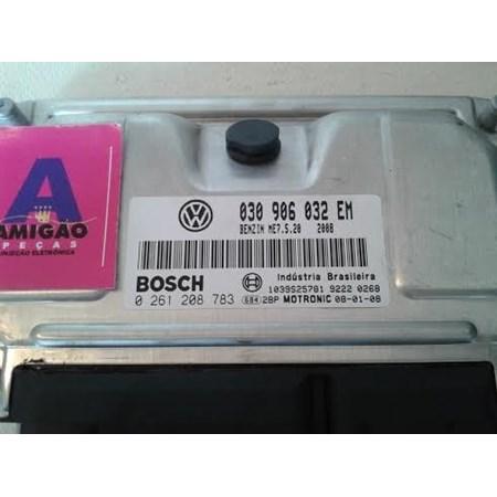 Modulo Injeção Gol G4 Fox 1.0 8v Flex 030906032EM 0261208783 Bosch