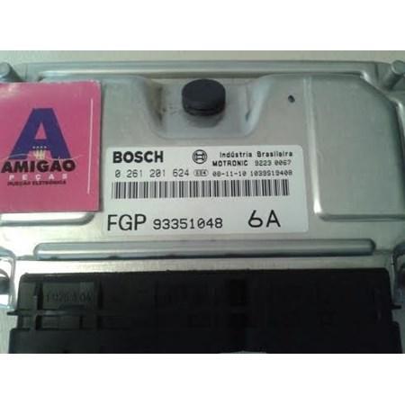 Módulo Injeção GM Zafira / Astra 2.0 flex - 0261201624 - 93351048 - 6A Bosch (NOVO)