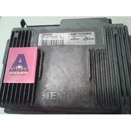 Módulo Injeção Renault Laguna 2.0 16v. - HOM7700105819 - S113722103B - 7700105985
