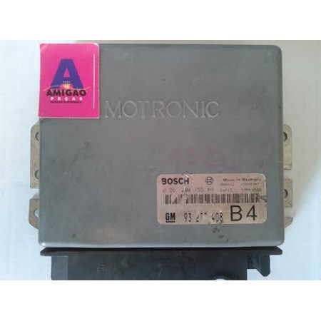 Módulo Injeção GM Omega 4.1 / Silverado 4.1 / C20 - 0261204155 - 93235408 - Original *PREÇO SOB CONSULTA*