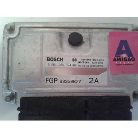 Módulo Injeção GM Vectra 2.4 16v. flex - 0261208924 - 93350677 - Original