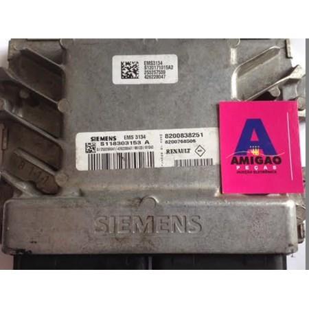 Módulo Injeção Renault Sandero 1.6 16V Flex - S118303153A - 8200838251 *PREÇO SOB CONSULTA*