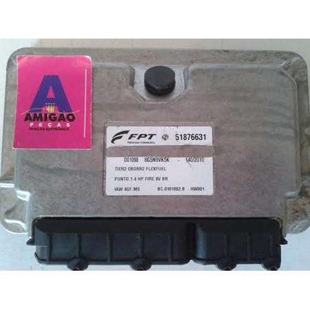 Módulo Injeção Fiat Punto 1.4 8v Flex - 51876631 - IAW 4GF.MS - Original